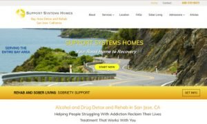 Support Systems Home - Bay Area Drug Detox and Rehab