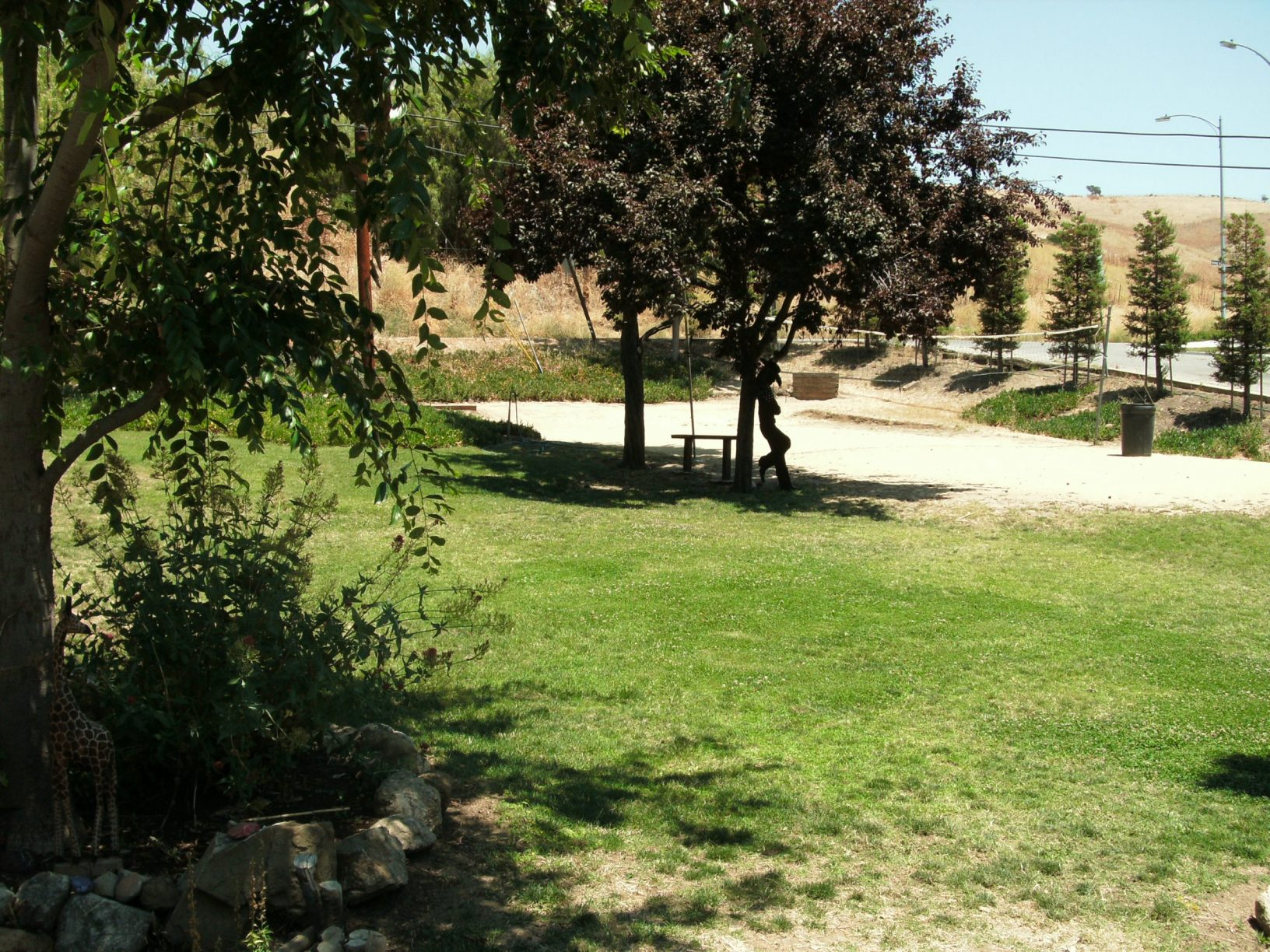 SSH Rehab Center - Yard with Fitness Options