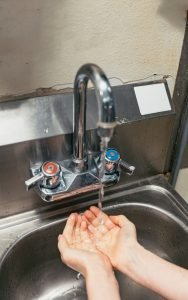 Washing Hands Coronavirus Protection